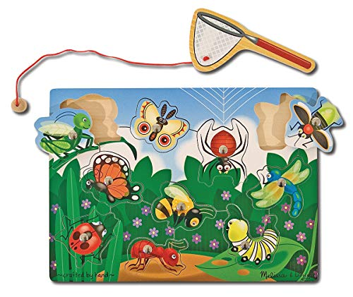Melissa %26 Doug Bug-Catching Magnetic Puzzle Game for 4.99