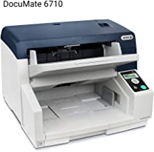 Visioneer Xerox DocuMate 6710 Duplex Production Scanner with Document Feeder