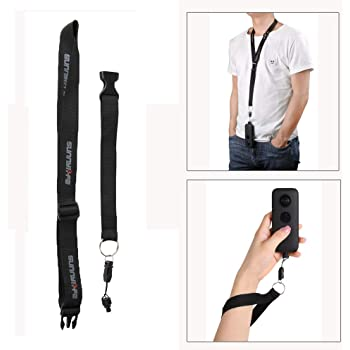 Shoulder Lanyard Neck Strap Adjustable Sling Belt 1//4 Screw Hand Strap for Insta360 One X Panorama Action Camera Accessories