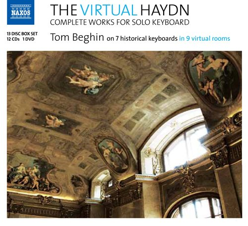 ヴァーチャル・ハイドン- 鍵盤独奏曲全集(The Virtual Haydn: Complete Works for Solo Keyboard)[CD+DVD]