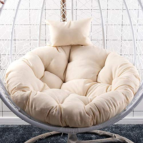 small Soft chair cushion. Immerse yourself in a large, thick and comfortable papasan, 100% pure …