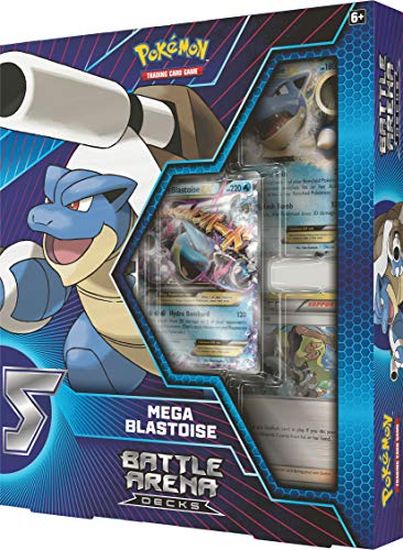 Pokémon POK82403 TCG: Battle Arena Decks Charizard X und Mega Blastoise, One at Random