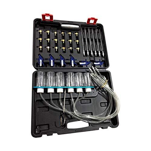 Iniettore Diesel,Tickas Kit Di Strumenti Di Prova Del Flusso Di Olio Diesel Tester Dell'Iniettore Ugello Automatico Set Di Strumenti Di Misurazione Del Tester Di Prova Dell'Iniettore Di Carburante