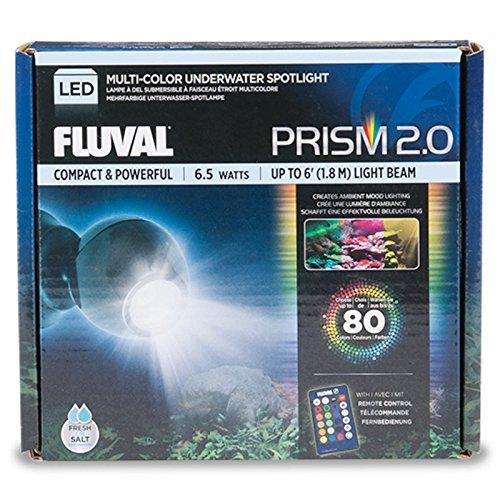 Fluval 2.0 PRISM, Spotlight, LED Beleuchtung für Süßwasser und Meerwasser Aquarien, 6,5W