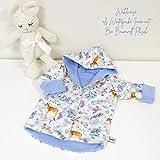 Wende oder Winter Jacke Rehe Blau/Aqua Baby Mdchen