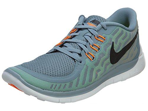 Nike Free 5.0 (GS) Laufschuhe dove grey-black-electric green-volt - 36