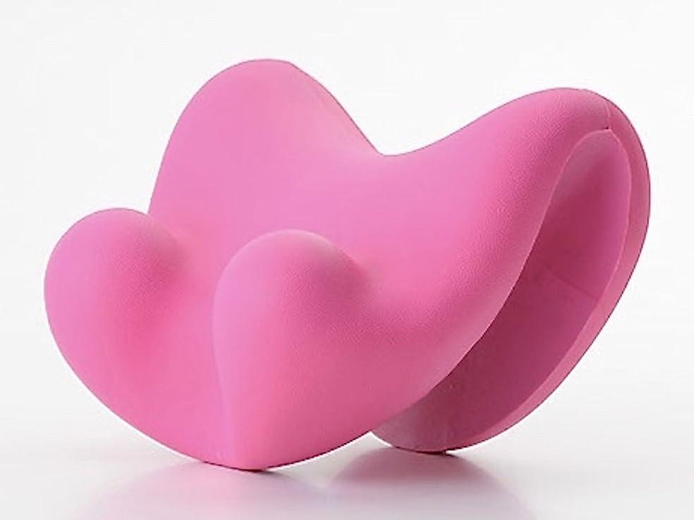 ロバアイロニーせせらぎほぐほぐピロー (ピンク) 指圧 マッサージ 枕 ツボ押し ストレッチ