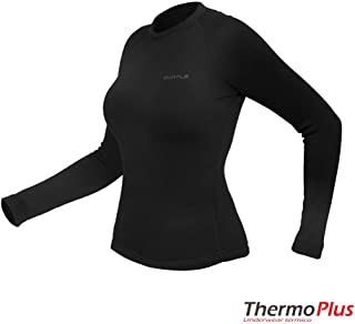 T-Shirt Thermoplus - Feminino Curtlo Preto