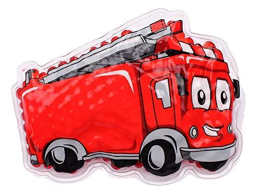 Kühlpad Wärmepad mehrfach Kompresse Kühlkissen Kinder wärmen kühlen Feuerwehrauto