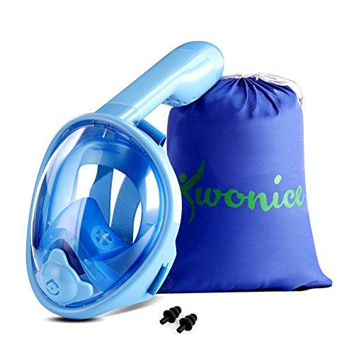 WONICE Full Snorkel Mask
