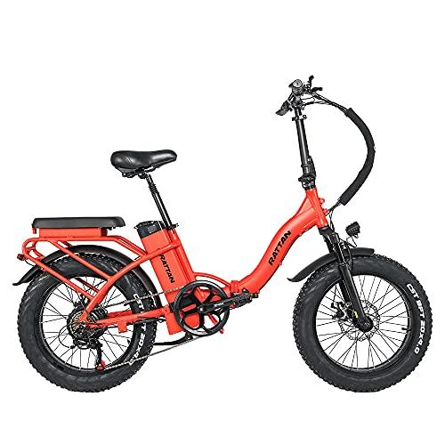Rattan 48V 500W/750W Electric Bike for Adults