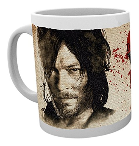GB Eye, Walking Dead, Daryl Needs You, Tasse, Holz, verschiedene Farben, 15 x 10 x 9 cm