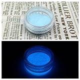 夜光パウダー 夜光粉末 蓄光 2g 青 レジンクラフト 封入 素材 グローネイル
