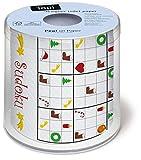 2 rotoli di carta igienica di Natale Sudoku – Sudoku natalizio.