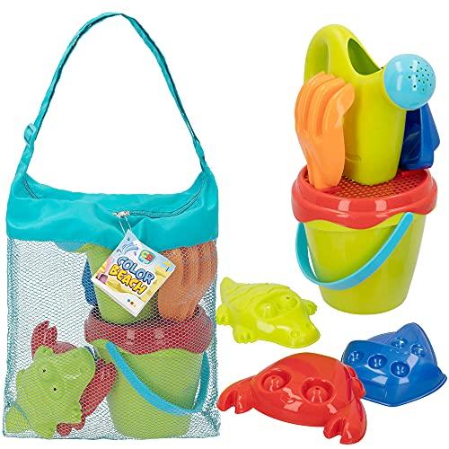 ColorBaby - Juguetes de playa para niños, diametro 14 cm, +18 meses (49271)