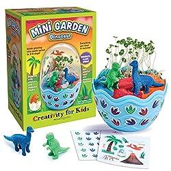 1. Creativity for Kids Dinosaur Egg Mini Garden Kit