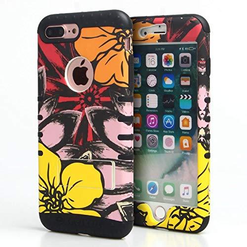 Hawaiian Vibes Rocker Snap On Case for iPhone 7/8 Plus (Black)