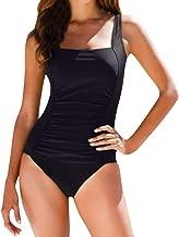 UOKNICE Swimwear for Womens, Summer Beach One Piece Push Up Padded Bathing Suit Monoki Beachwear Tankini Bikini