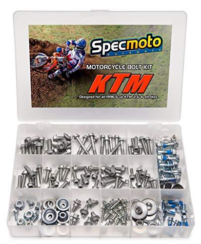 Specmoto Hardware Bolzen-Set Euro-Typ passend für: KTM & Husqvarna Dirt Bike (1996-heute)