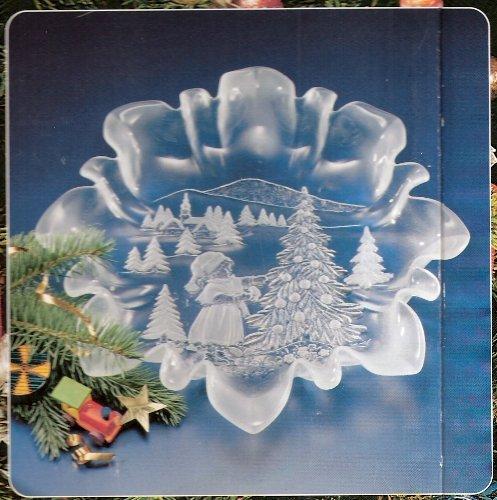 Walther Glas 1205020 - Piatto Sogno di Natale, 340 mm, Satinato