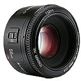 YONGNUO YN50 50mm F1.8 Lente Enfoque de Gran Apertura automática para Canon EOS DSLR Cámara + NAMVO Difusor