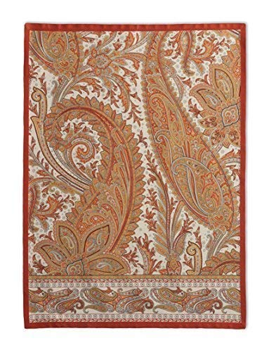 Maison d' Hermine Kashmir Paisley 100% Cotton Set of 2 Kitchen Towels 20 Inch by 27.5 Inch.