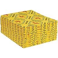 """Hazmat Sorbent Pads, 16 x 18"""", Heavy, Yellow, 100/Case"""