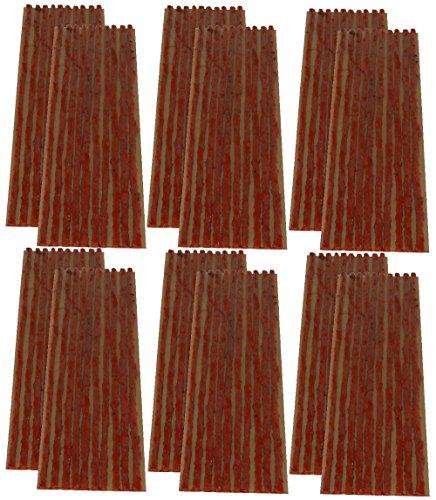Aerzetix C40656 - Set di 120 punte da 4 mm, 20 cm, colore: Marrone