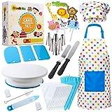 RISEBRITE Cake Decorating Kit for Kids Baking Set for Girls and Boys – 38 Pcs Gift Set i...