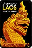 ERMUHEY The Funny Laos Drachen Statue Luang Prabang Asien