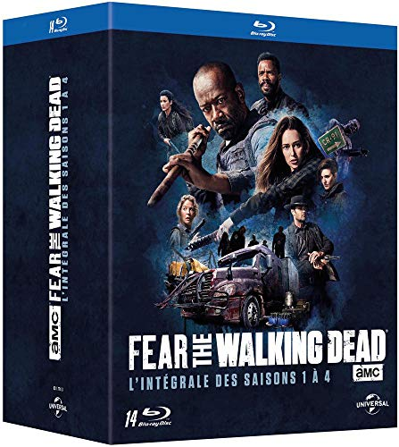 Fear the Walking Dead : l'intégrale des saisons 1 à 4 en Blu-ray