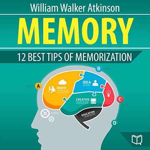 Memory: 12 Best Tips of Memorization audiobook cover art