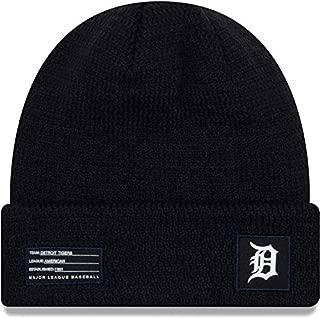 New Era Detroit Tiger Beanie Road MLB 2018-19 On Field Sport Knit Cap Navy Blue Adult One Size