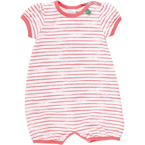 Fred'S World By Green Cotton Ocean Stripe Beach Body Girl, Rouge (Coral 016164001), 58 (Taille Fabricant: 56) Bébé Fille