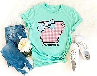 Arkansas Ya'll Bow Print Shirt, Arkansas Shirt, Arkansas, Home State Shirt, Home Shirt, Where I'm From State Shirt, Home, Arkansas State