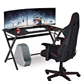 Tribesigns Computertisch,Gaming Desk auf Ergonomische,Schreibtisch,...