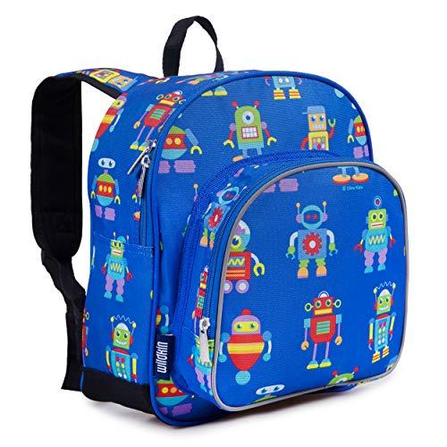 wildkin robot backpack - 3
