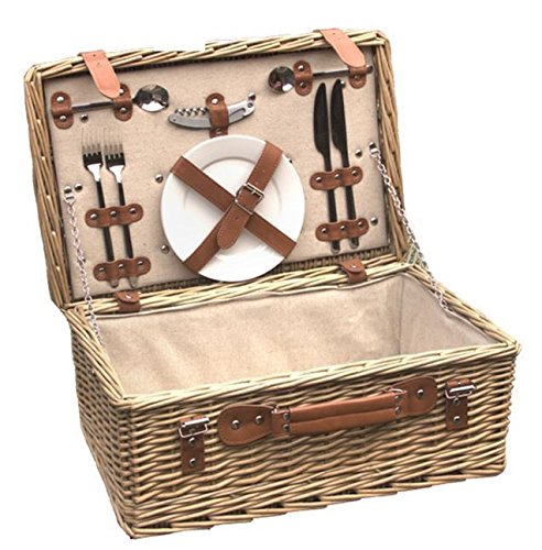 Red Hamper Bamburgh Fitted Picnic Basket