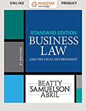 MindTap Business Law, 1 term (6 months) Printed Access Card for Beatty/Samuelson/Abril's Business Law and the Legal Enviro...