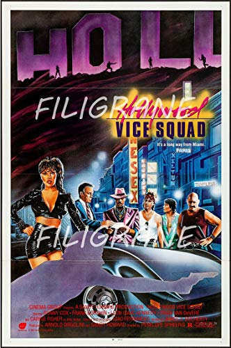 PostersAndCo TM Hollywood Vice Squad película Rgle-Poster/Reproducción 40 x 60 cm x d1 Póster vintage retro