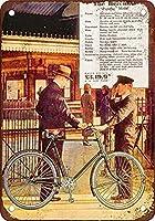 ヘラクレス自転車ビンテージレトロメタルサイン2