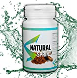 NATURAL SPRINT |Constipation adultes - Transit Intestinal - Laxatif naturel - Ventre plat femme et homme - Détox minceur - Transit intestinal - Nettoyage du colon - 90 Comprime