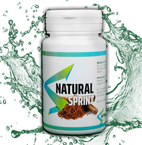 NATURAL SPRINT |Constipation adultes - Transit Intestinal - Laxatif naturel - Ventre plat femme et homme - intestinal - Détox minceur - Transit Nettoyage du colon - 90 Comprime -