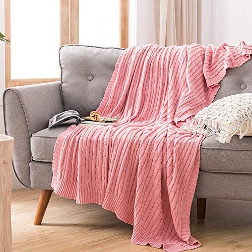 Bedding Mantas Reversibles de Franela - Tela de Cepillo Extra Suave, Súper cálida, Mantas para sofás acogedora y Ligera, Cuidado fácil -7_El 110x180cm