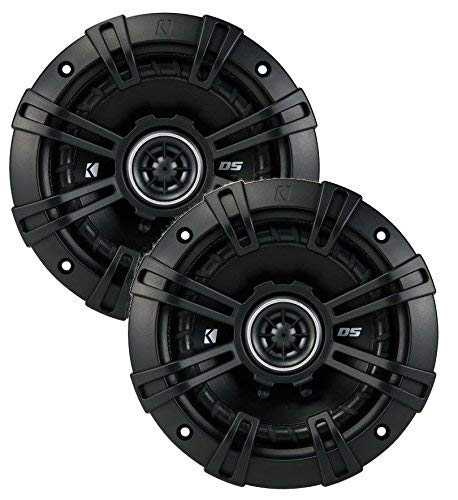 2 Kicker 43DSC504 D-Series 5.25' 200W 2-Way 4-Ohm Car Audio Coaxial Speakers