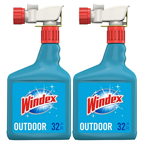 Windex Outdoor Glass and Patio Concentrated Cleaner, 2 ct, 32 fl oz