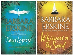 Barbara Erskine: 2 books packs: (Times Legacy / Whispers in the Sand)
