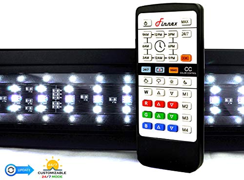 Finnex Planted+ 24/7 LED KLC Aquarium LED Light,  Automated Full Spectrum Fish Tank Light, 30 Inch