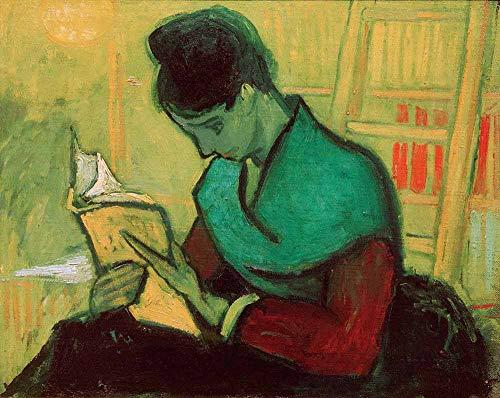 professionnel comparateur Lecteurs Van Gogh-Roman Reproduction en rouleau 65 x 50 cm de peinture sur toile-dessins… choix