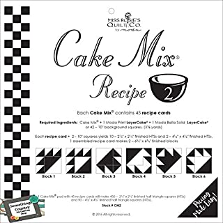 Cake Mix Recipe #2 ~44 recipe cards 450, 2-1/4